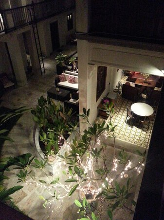Noordin Mews: My view from the bathroom shop house 1