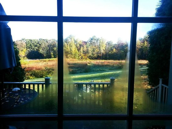 Chesterfield Inn : view from the room :)