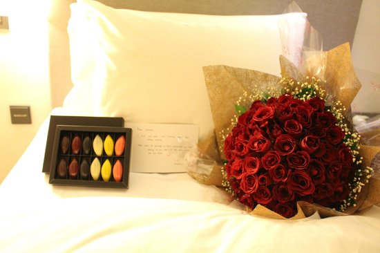 The Stones Hotel - Legian Bali, Autograph Collection: Surprise gifts arranged from Sydney
