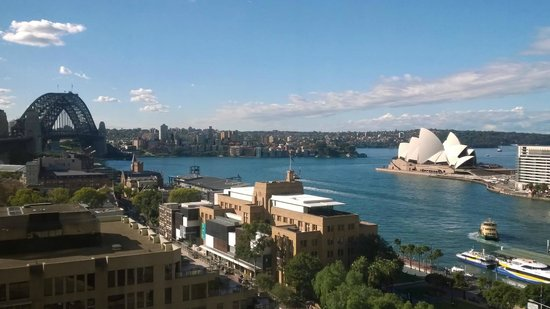 Four Seasons Hotel Sydney: View from room