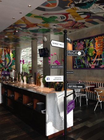ARTOTEL Thamrin - Jakarta: restaurant