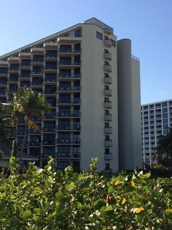 Hilton Marco Island Beach Resort--CLOSED FOR RENOVATIONS; REOPENING DEC. 1, 2017: Marco Island Hilton showing Gulf Front Balconies