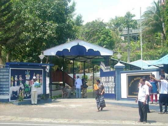 Samudrika Marine Museum: Entry to Museum