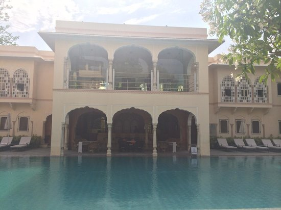 Samode Haveli : The pool just a tiny fraction of what it really is
