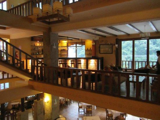 SUMAQ Machu Picchu Hotel: Bar area