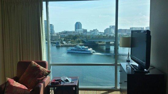 Residence Inn Long Beach Downtown: Room #818 view