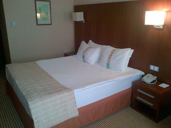 Holiday Inn Samara: Сильно поюзаный номер