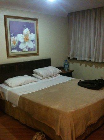 Dan Inn Curitiba Hotel: Quarto casal