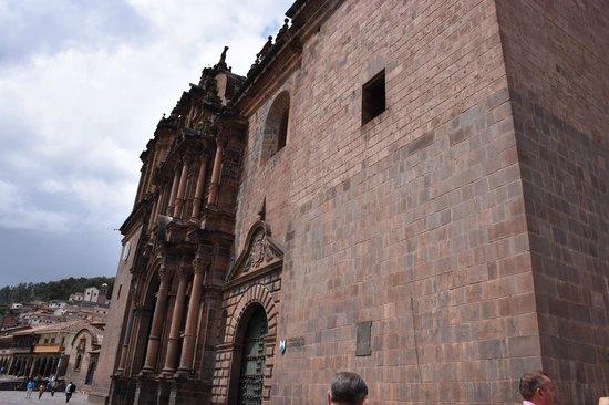 Catedral del Cuzco o Catedral Basílica de la Virgen de la Asunción: External