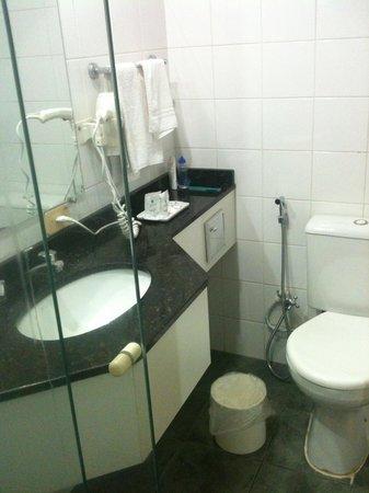 Dan Inn Curitiba Hotel: Banheiro
