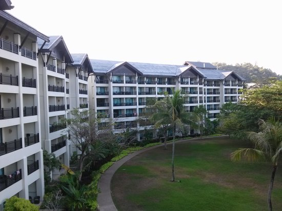 Shangri-La's Rasa Ria Resort & Spa: Balcony View