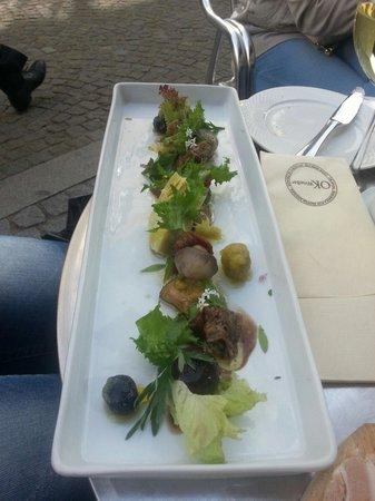 OK Wine Bar Restaurant: Marinerte grønnsaker