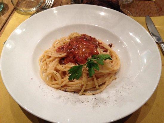Badalamenti Cucina e Bottega: La pasta e i ricci ... Un Must! della cucina palermitana.