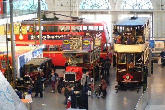 London Transport Museum: Vehicles