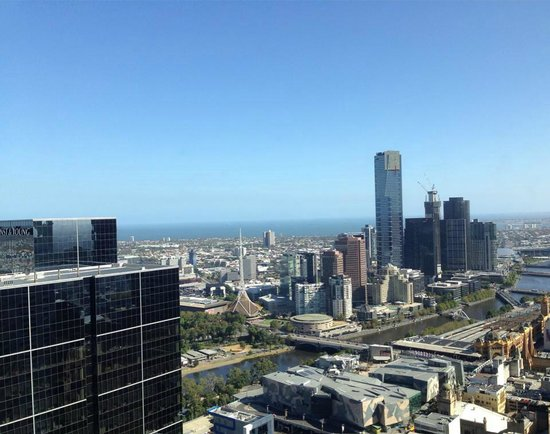 Sofitel Melbourne on Collins: stunning views from our room
