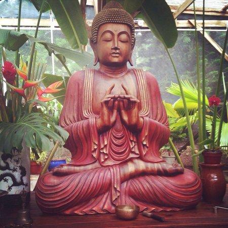 The Sacred Garden of Maliko : Amazing carved Buddha!