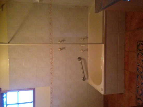 Lemonthyme Wilderness Retreat : Bathroom Sunrise