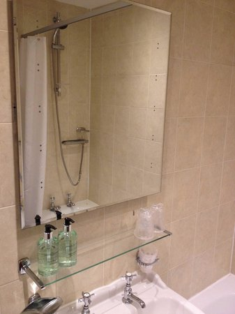 The Mill at Conder Green: Bathroom, view of shower