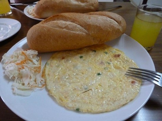 Blue River Hotel: desayuno