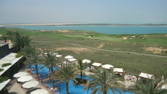 Radisson Blu Hotel, Abu Dhabi Yas Island: View from our balcony