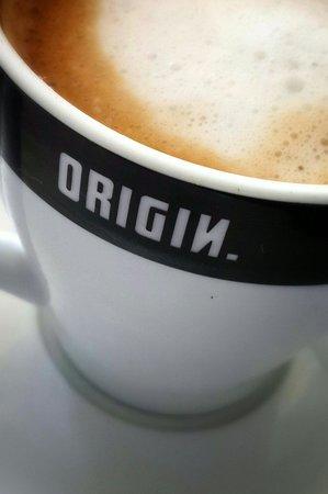 Toby's Coffee Shop: Origin coffee