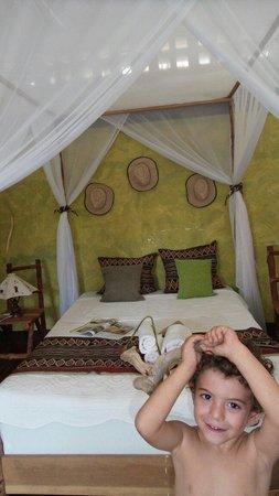 Home Sakalava: La chambre, double possible si en famille.