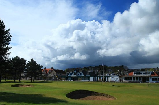 Monifieth Golf Links: 18th Green Monifieth Medal Course