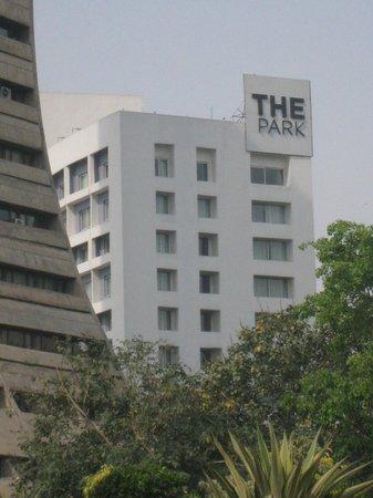 The Park New Delhi: View from gardens opposite