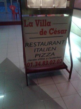 Villa De Cesar : entrée