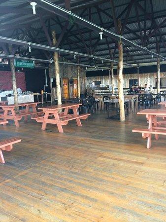 Uncle Chang's Sipadan Mabul Dive Lodge: public gathering