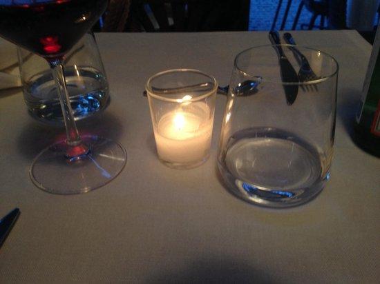 Osteria Brunello : Una piccola luce .....