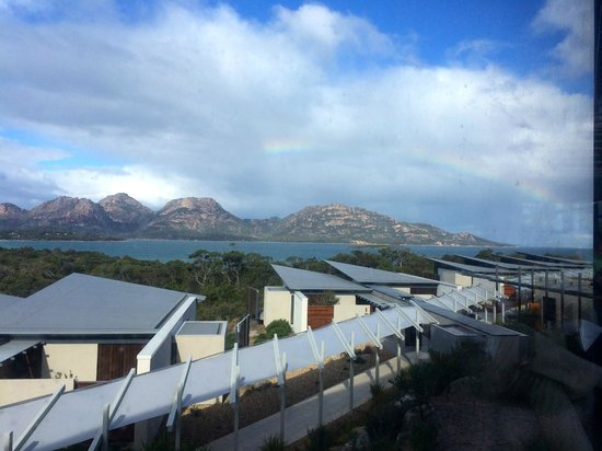 Saffire Freycinet: View of The Hazards from bar area