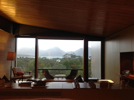 Saffire Freycinet : View from our room
