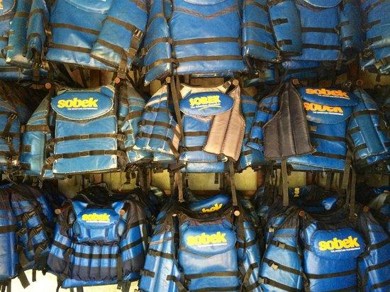 Bali Sobek: Life Jackets