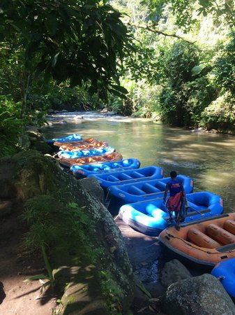 Bali Sobek: Ayung River, Sobek starting point