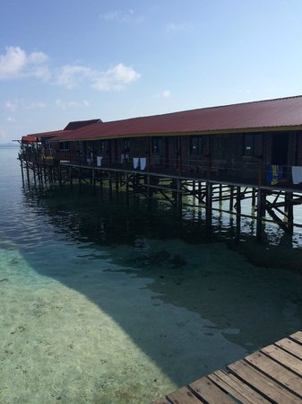 Uncle Chang's Sipadan Mabul Dive Lodge: chalet