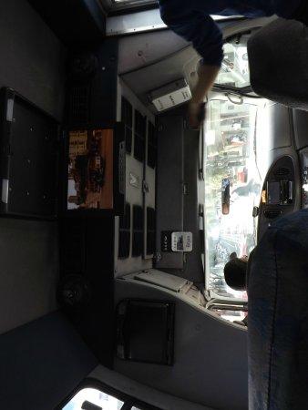 San Francisco Movie Tours : Inside the bus