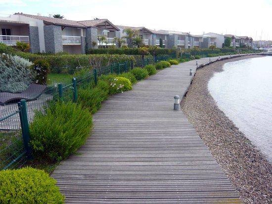Lagrange Prestige Residence L'Ile Saint Martin : chemin du tour de l'ile