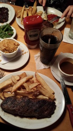 Texas Roadhouse: My Steak