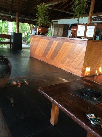 Gangehi Island Resort: reception