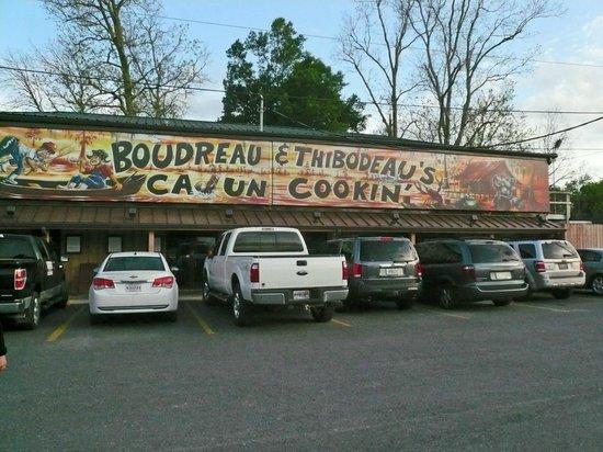 Boudreau & Thibodeau's Cajun Cooking: Restaurant Boudreau et Thibodeau