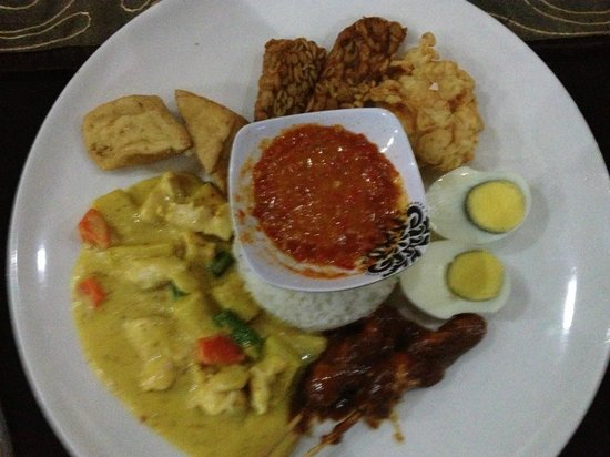 Sheppy`s Bar and Restaurant: Special Nasi Campur