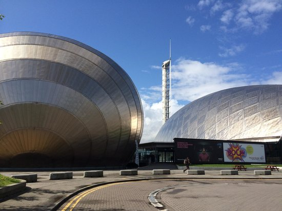 Glasgow Science Centre: Let the fun begin!