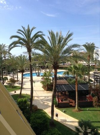 Protur Sa Coma Playa Hotel & Spa: the pool from my room