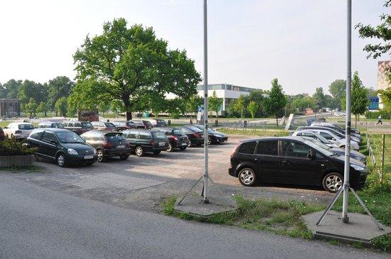 cityherberge : Parking area