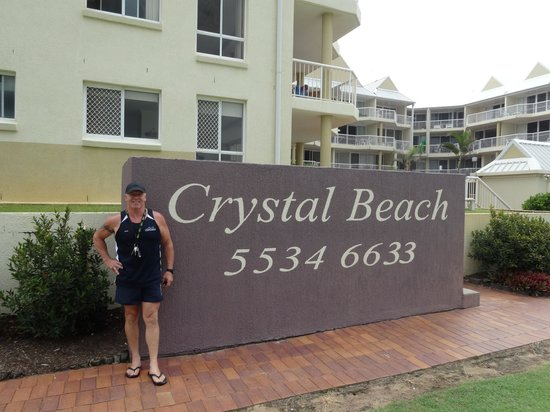 Crystal Beach Holiday Apartments: Manager Greg