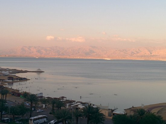 Daniel Dead Sea Hotel: View from partial sea view room
