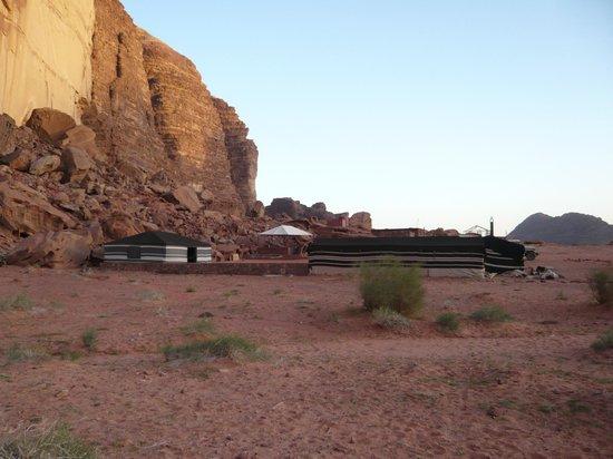 Wadi Rum Day Tours: Camp am Al Khazali