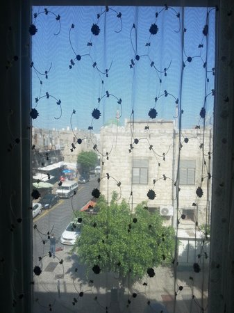 Akkotel: view from room