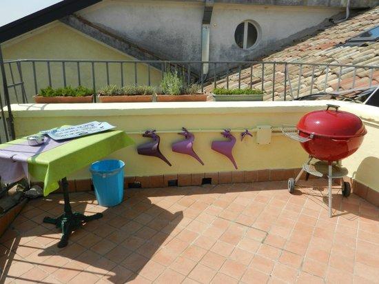 Residence La Fattoria: barbeque